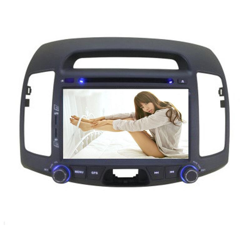 朗动名图瑞纳索纳塔八dvd导航 gps嵌入式车载导航仪倒车影像(悦动