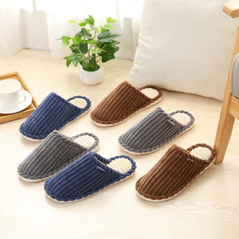 大码秋冬地板棉鞋结婚男童 冬季睡鞋女 底宿舍