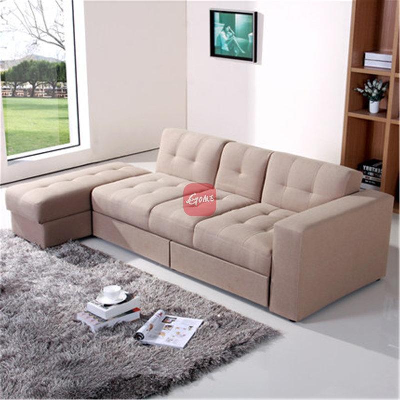 宜家嘉宜美布艺沙发组合现代小户型客厅双人沙发三人沙发储物沙发