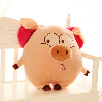 可爱麦兜猪天使猪毛绒玩具布娃娃猪公仔玩偶 情侣生日