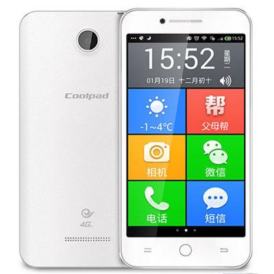 酷派(cooipad)5263s 5寸智能老年人手机 电信智能老人
